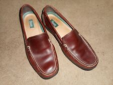 Mens BASS   Loafers / Dress Shoes Size 11 M Brown Leather Slip-ons LIKE N*W