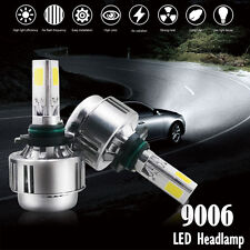 Aliens 90W 9006 LED HID Headlight Xenon 6000K White Bulbs 3 Sided Conversion Kit