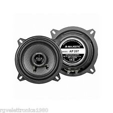 ALTOPARLANTI AUTO COPPIA 2 VIE WOOFER E TWEETER 130mm 120W AUDIOLA AP-207