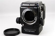 【N MINT】Mamiya RZ67 PRO II W/ FILM RZ67 I  WINDER RZ II Medium Form japan #214