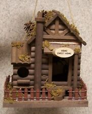 Bird House Home Sweet Home NEW wood and luan plywood