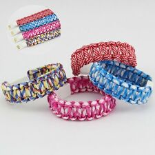 USB Data Sync Charging Cable Woven Wristband Bracelet  For Andriod Smart Phone