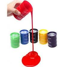 4 COLORED OIL SLIME BARRELS slimy novelty toys classic gooey novelty kids gags
