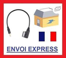 Cable auxiliaire adaptateur mp3 UCI MDI AMI pour mercedes CLASSE B DE 2010 2011.