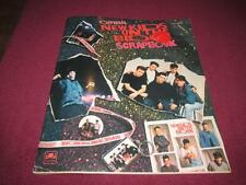 OFFICIAL 1990 NEW KIDS ON THE BLOCK SCRAPBOOK -Unused Condition
