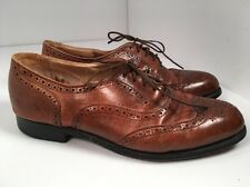 Cole Haan Brown Leather Mens wing Tip oxfords Shoes Sz 9D