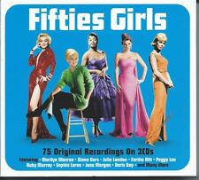 Fifties [50s] Girls - 75 Original Recordings (3CD 2014) NEW/SEALED