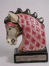 De Rosa Rinconada Silver Anniversary Bookend Ruby / Red Horse - NEW  #BE01R NIB