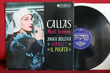 33CX 1645 CALLAS Mad scenes, RESCIGNO; LP Columbia blue gold label, mono, GB, NM