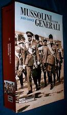 John Gooch Mussolini e i suoi generali