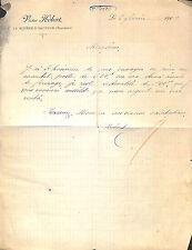 14 LA RIVIERE-SAINT-SAUVEUR COURRIER VICTOR HEBERT 1909