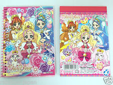 Go! Princess Precure Mini Memo Pad & Mini Notebook Set Sun-Star From Japan