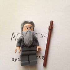 LEGO Gandalf Minifigure - New - From 79005 The Wizard Battle - Includes Staff