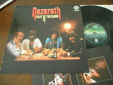 NAZARETH Play ´N´ The Game  LP 1976  NM + Insert