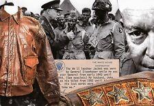 WW2 - CP - Blouson en cuir porté par le Général Eisenhower de mars 43 à Déc 44