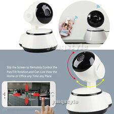 P2P WiFi 720P Wireless IR Night Vision CCTV Security Network IP Camera Pan Tilt