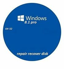 windows 8.1 repair recovery disk pro 32-64
