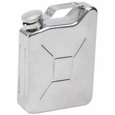 Gas Can Shaped Fun Quality Stainless Steel 5oz Hip Flask Biker Liquor HIP-0031