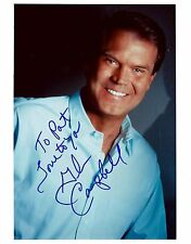 Glen Campbell signed 8x10 photo / autograph to Pat