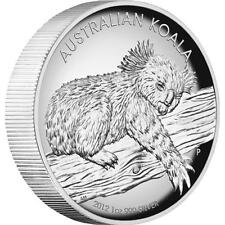 2012 Australian Koala 1oz Silver Proof High Relief Coin - Perth Mint