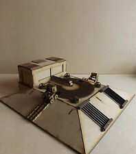 Industrial Building Mineral crusher Scenery warhammer 40k wargame Infinity