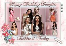 Personalised birthday card little mix daughter sister grandaughter  friend mh