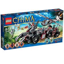 70009 WORRIZ' COMBAT LAIR lego legos set NEW legends of chima Wilhurt Wakz Eris
