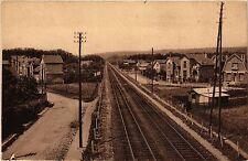 CPA  Vue prise de la passerelle d'Ermont et Gros Noyer-St-Prix (S.-et-O.(290547)