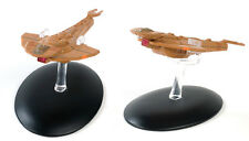 Eaglemoss Diecast Star TREK Cardassian Galor Class  ST0014 & MAGAZINE #14
