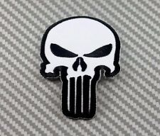 Embroidered Patch Iron Sew Punisher Morale Military Tactical Operator Army 4