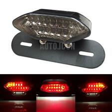 1p LED Brake Tail Turn Signal Light With License Plate Bracket For Motorcycle