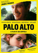 Palo Alto, New DVD, Jack Kilmer, Emma Roberts, James Franco, Gia Coppola