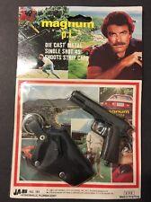 RARE Magnum P.I. MOC 1981 Tom Selleck 80s TV Show Cap Gun Die Cast JA-RU