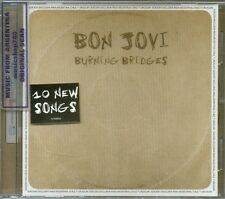 BON JOVI BURNING BRIDGES SEALED CD NEW 2015