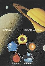 2000 WORLD STAMP EXPO, EXPLORING THE SOLAR SYSTEM SHEETLET 3410, $17.50