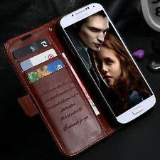 Flip wallet stand cover leather case for Samsung galaxy S4
