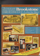 Brookstone Hard to Find Tools & Other Fine Things Catalog 1982
