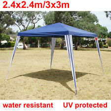 3x3m navy PE easy up outdoor party market gazebo marquee canopy tent sm