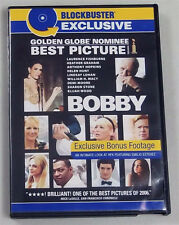 Bobby (DVD, 2007, Widescreen, Blockbuster Exclusive ) Sharon Stone WORLD SHIP