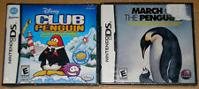 Nintendo DS Lot - Disney Club Penguin (New) March of the Penguins (New)