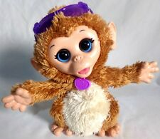 FurReal Friends Monkey Babie Cuddles My Giggly Monkey Animated Moves Sound