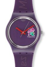 "SWATCH GENT SPECIAL ""London 2012 Paralympic Volunteer"" (gz272) NUOVO, MOLTO RARO"