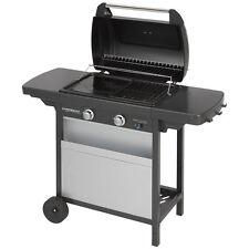 Barbecue a gas della campingaz piastra in ghisa e griglia  class 2 lx vano