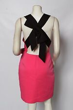 KATE SPADE Pink Bow Back Blaze A Trail NORDSTROM Dress Sz 8 NWT $448