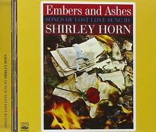 EMBERS AND ASHES · SONGS OF LOST LOVE SUNG BY SHIRLEY HORN + WHERE ARE YOU GOING