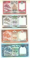 NEPAL 5 10 20 50 RUPEE 2008 SAME SIGN UNC P 60 61 62 63
