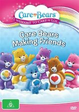 Care Bears - Making Friends (DVD) ~NEW & SEALED ...100% Genuine ~ Fast Shipping