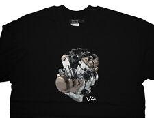 Aprilia RSV4 R Factory Engine T shirt T-shirt- Premium Quality 100% Cotton