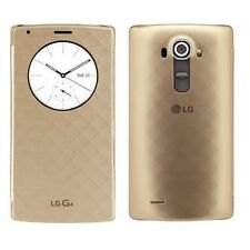 Genuine LG G4 FLIP CASE original smart phone cover housing h815 h818p qi wallet