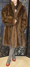 SALE! Russian sable fur coat,wonderful condition